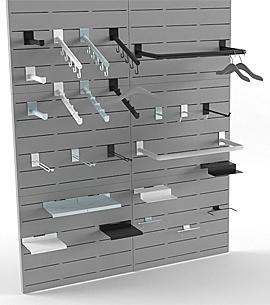 POSAGENT produziert - Möbel für Ladeneinrichtung, Ladenausstattung, Haken, Gondel, Tablare, Tische, Leuchwerbung, Mittelraummöbel, Rückwandmöbel
